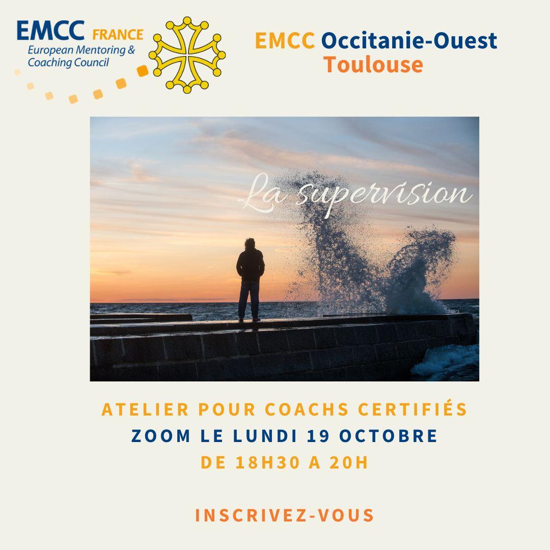 flyer atelier supervision pour coachs certifiés par l'EMCC et Attitudes et Conseils